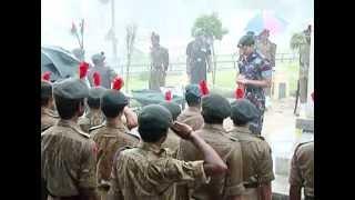 NCC Celebrates Kargil Vijay Divas on 26 July 2013 at Thiruvananthapuram, Kerala