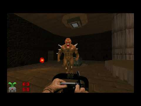 Doom 2 Challenge - MAP01: Entryway | Ultra-Violence, Chainsaw Only, Monster  Re-spawn, 100+ Kills