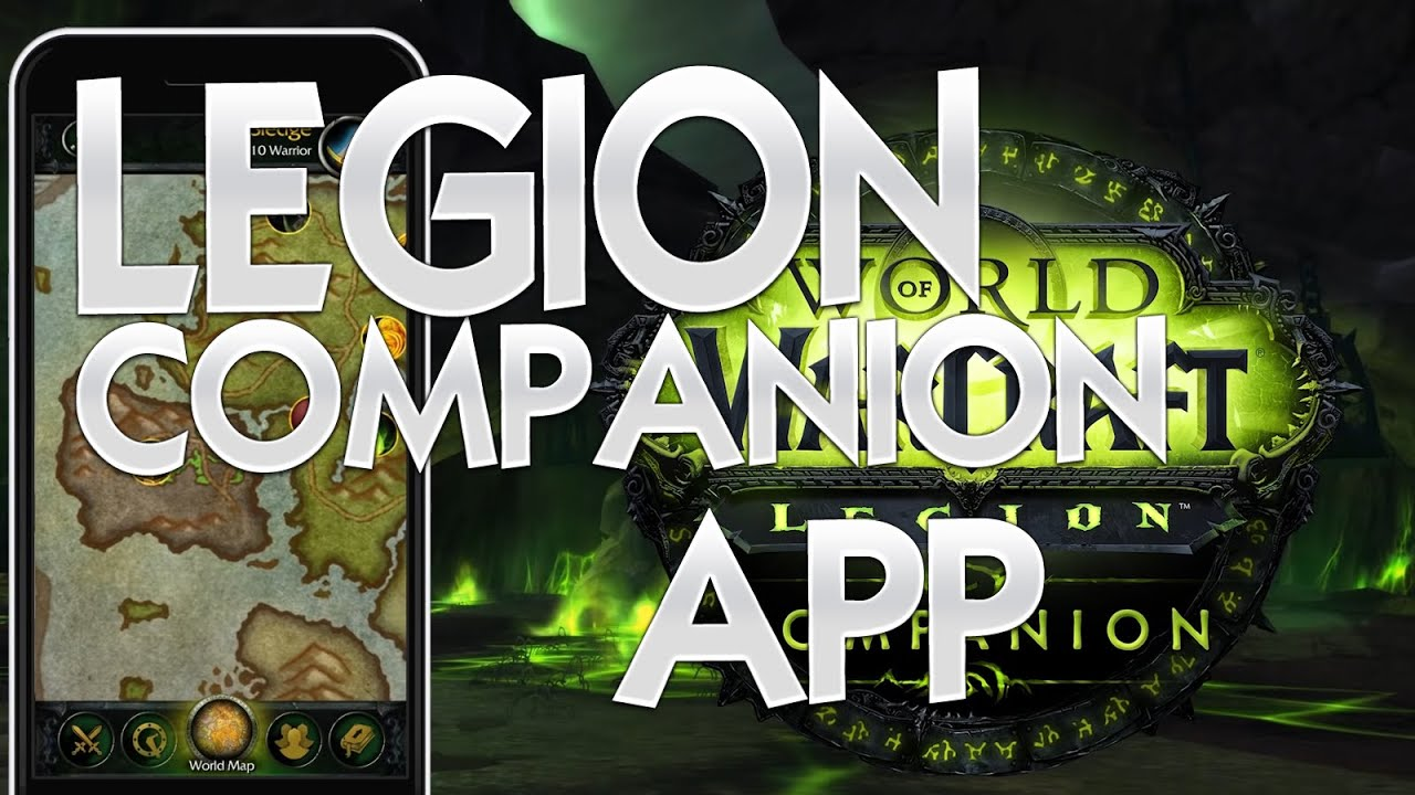 Wow legion companion app review world of warcraft wow youtube wow legion companion app review world of warcraft wow gumiabroncs Images