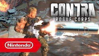 CONTRA ROGUE CORPS - E3 2019-Trailer (Nintendo Switch)