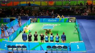 RIO2016 - Germany x Japan - Table Tennis Team Events