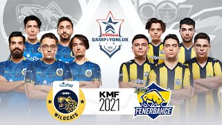 2021 Kış Mevsimi Finali - fastPay Wildcats ( IW ) vs 1907 Fenerbahçe Espor ( FB