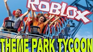 MY AMUSEMENT PARK!! Roblox Theme Park Tycoon Hungarian!