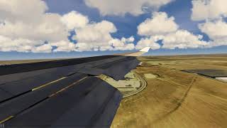 747-400 landing at Denver ++ Aerofly FS 2