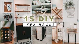 15 DIY Ikea Hacks - Upcycling Ideen im Boho/Scandi Look - einfach und schnell  EASY ALEX