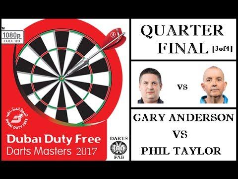 Dubai Duty Free Darts Masters 2017 HD - Quarter Final [3of4]: Gary Anderson vs Phil Taylor