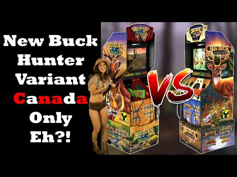Second Version of Big Buck Hunter Arcade1up Revealed! Might Be Canada Only! from Unqualified Critics
