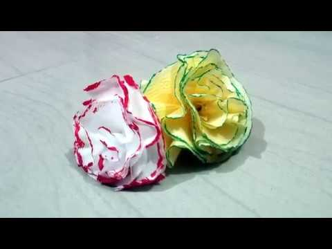 DIY Tissue Paper Flowers   How to make Flowers   Flower Tutorials   Handmade Crafts