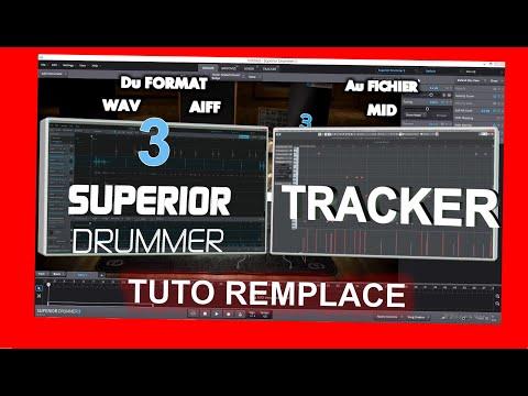 SUPERIOR DRUMMER 3 - Tuto fonction Tracker - Remplacement de Batterie