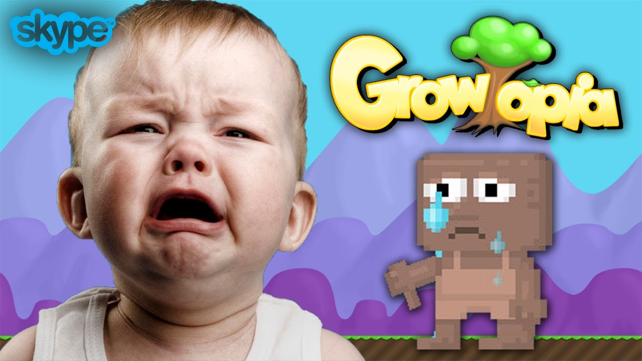 Growtopia Scamming Little Kid Gone Wrong Skype