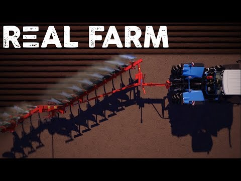 Lets Play Real Farm #1 - Beginning our Career - Real Farm Gameplay