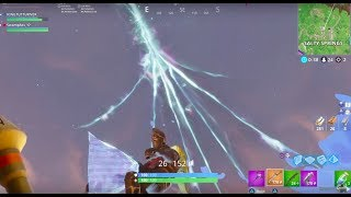 Rocket Riding into Sky Crack from Max Height!! - Fortnite: Battle Royale