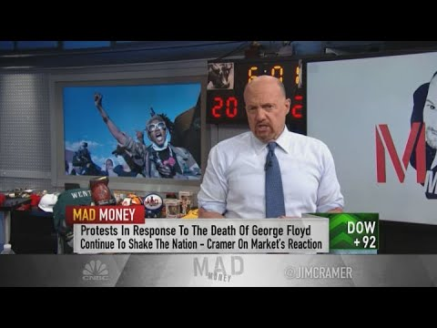 Jim Cramer on the impact of protests on Wall Street: 'The market's blind'