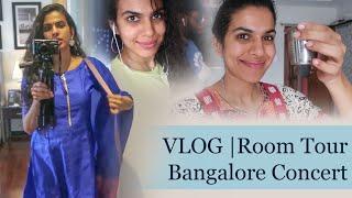 Vlog | Room Tour | Banglore Concert | Sravana Bhargavi |