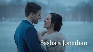 A Beautiful Winter Wedding ••Sasha & Jonathan