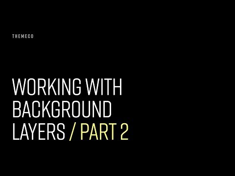 Working with Background Layers (Part 2)