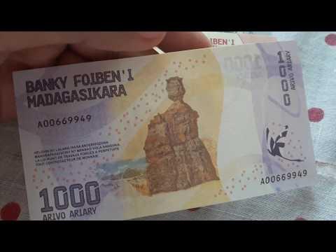 Madagascar Ariary Banknotes (Series 2017)