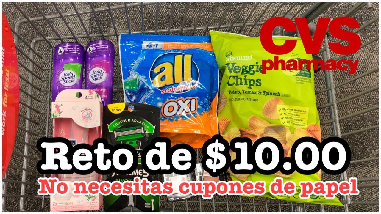 Reto de $10.00 en CVS| Productos GRATIS y Súper Baratos| Solo CUPONES DIGITALES