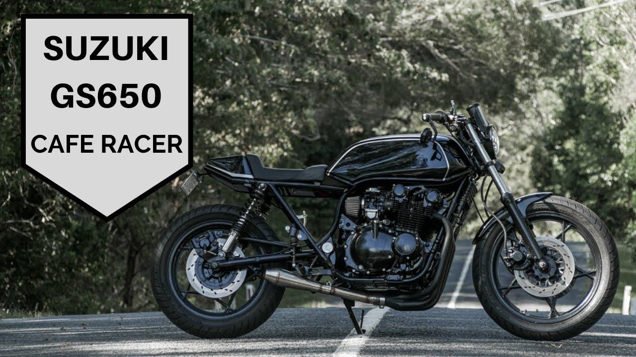 Cafe Racer Suzuki Gs650 How I Built