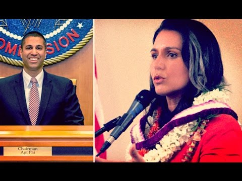 Tulsi Gabbard Comes Out STRONGLY for Net Neutrality