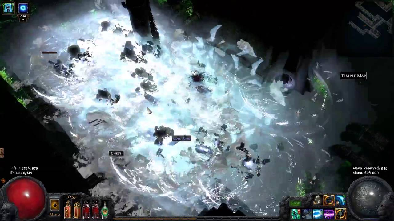 cold fission assassin 100 chance to crit herald of ice youtube