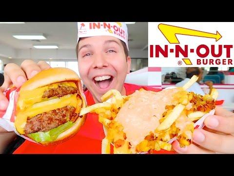 In-N-Out Burger • MUKBANG