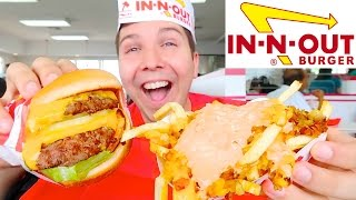 In-N-Out Burger  MUKBANG