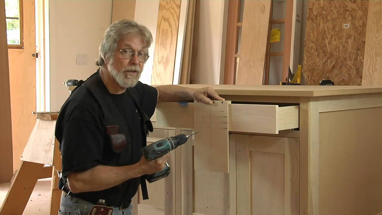 Build a Simple Jig to Drill Cabinet-Handle Holes Perfectly - YouTube