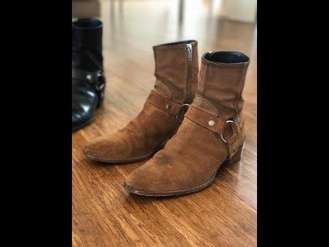 Saint Laurent Harness Wyatt Boots