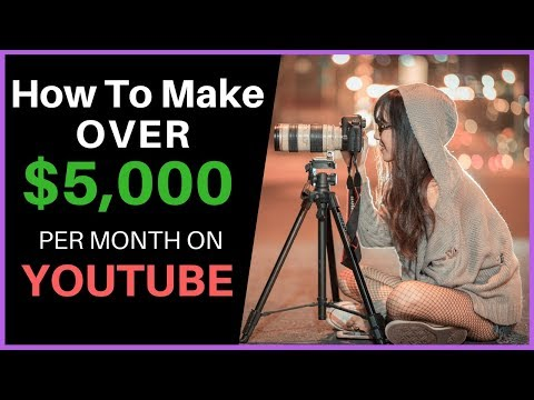 How To Make Over $5000 PER MONTH On YouTube - Anyone Can Do This