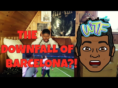 Barcelona vs PSG 0-4 All Goals and Highlights !! REACTION!!