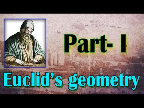 Euclid's Geometry | Part 1 | Math | LetsTute