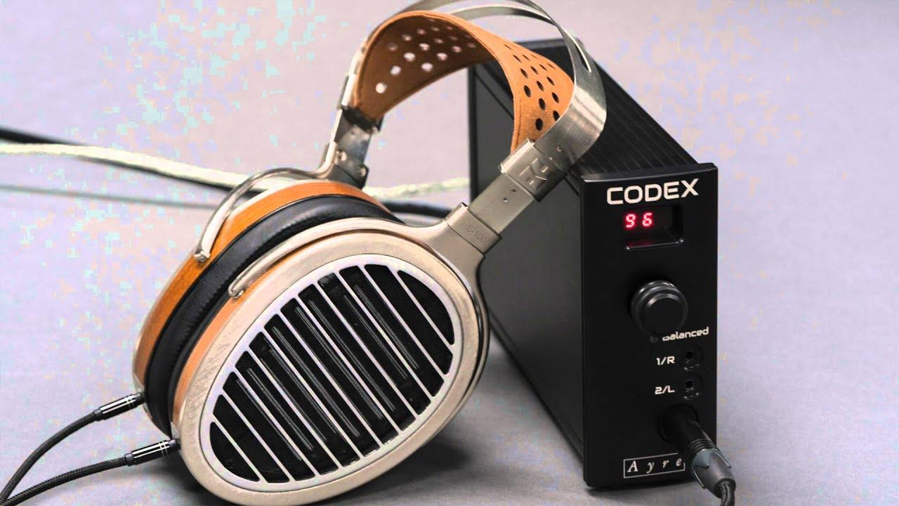 Ayre Codex Headphone Amplifier/DAC/Preamp