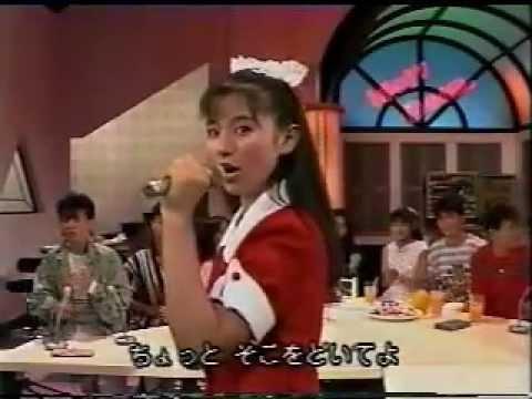 80年代 アイドル 安永亜衣 セクシーストリート 1988年