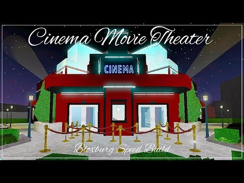 Bloxburg | Cinema Movie Theater [SPEED BUILD]