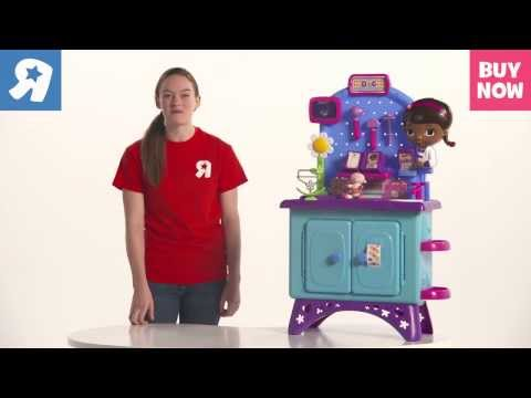Doc McStuffins Deluxe Get Better Check Up Center Demo - Toys R Us Hot Toys For Christmas