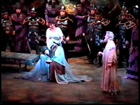 NABUCCO morte Abigaille, KATHLEEN McCALLA, Capetown Opera (Debutto)