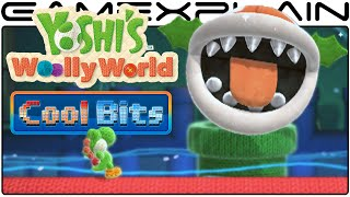 Cool Bits - Yoshi's Woolly World Naval Piranha's Boss Secret