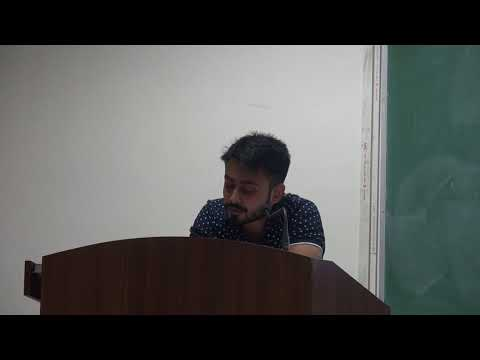 Department of History, DU | Research Scholars Conference 2018 | Day 3 Session 4 Arjun Bhattacharya