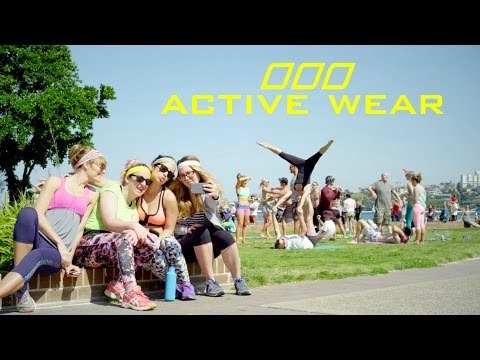 A video for women who wear activewear to do not-active things