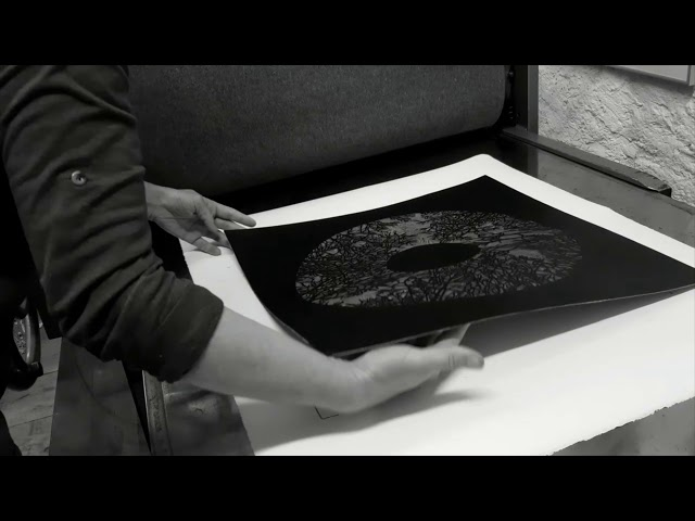 3 Minuten: Linoldruck - Beate Diao