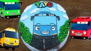 Kue Ulang Tahun Tayo The Little Bus Happy Birthday Anak Anak Kue Tart Cake By Lenscake