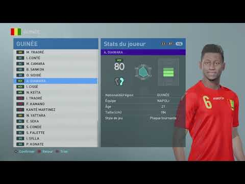 PES 2019 Africa National Team - YouTube