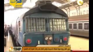 """فيديو.. """"النقل"""" يطالب السكة الحديد بتوفير رحلات عودة إلى القاهرة"""