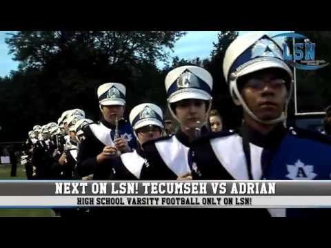 Tecumseh Indians vs Adrian Maples (2015 Football)