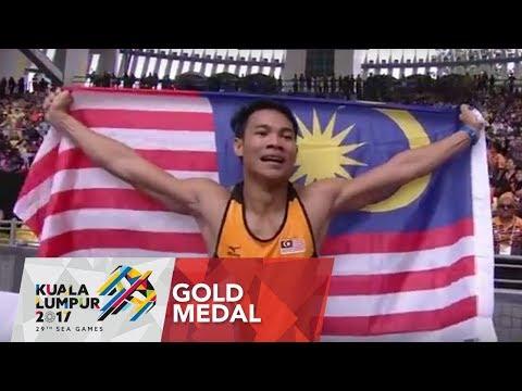 Athletics Men's 110m Hurdles Final | 29th SEA Games 2017