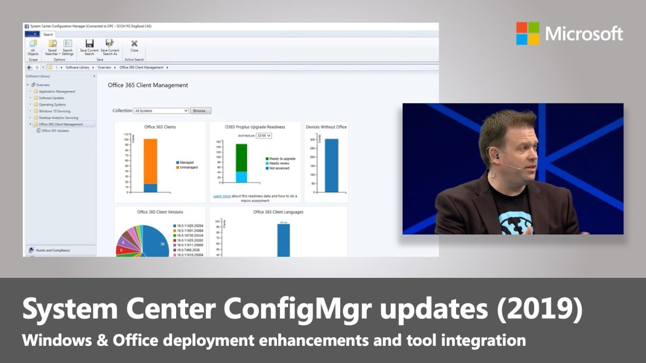 System Center Configuration Manager SCCM updates for Windows and Office  deployment (2019)