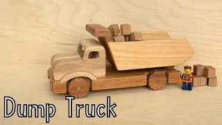 How To Make A Wooden Toy Dump Truck | Christmas Gift - Wooden Creations
