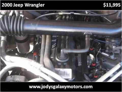 2000 Jeep Wrangler Used Cars Omaha Ne Youtube