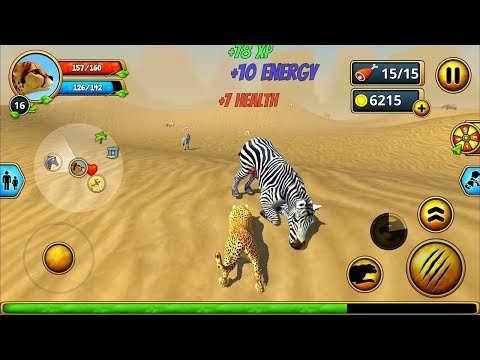 cheetah-family-sim---animal-simulator-android-ios-gameplay-#4